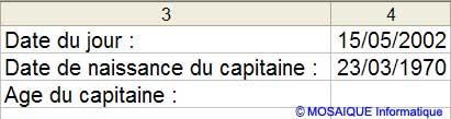 Le tableau à saisir - Excel - MOSAIQUE Informatique - 54 - Nancy - Meurthe et Moselle - Lorraine - Apprendre Excel