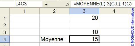 La cellule vide n'est pas considérée comme une valeur numérique - Excel - MOSAIQUE Informatique - 54 - Nancy - Meurthe et Moselle - Lorraine