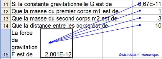 L'audit de cellule - Excel - MOSAIQUE Informatique - Formations informatiques et création de sites internet - 54 - Nancy - Meurthe et Moselle - Lorraine