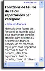 Cours Excel et exercices de formation Excel  n° 6 - Les fonctions d'Excel - MOSAIQUE Informatique - 54 - Nancy - Meurthe et Moselle - Lorraine