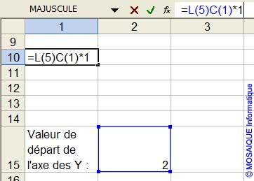 La formule saisie en L10C1 - Excel - MOSAIQUE Informatique - Cours bureautiques en ligne - 54 - Nancy - www.mosaiqueinformatique.fr
