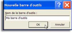Les barres d'outils - Excel - Cours et tutoriels de formation - MOSAIQUE Informatique - 54 - Nancy