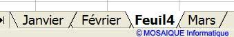 Le nouvel onglet a été inséré - Excel - MOSAIQUE Informatique - 54 - Nancy - www.mosaiqueinformatique.fr