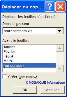 L'onglet sera placé en dernier - Excel - MOSAIQUE Informatique - 54 - Nancy - www.mosaiqueinformatique.fr
