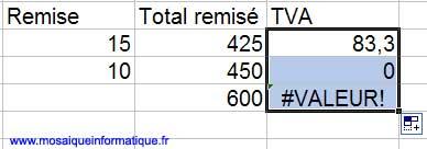 La recopie de la formule est une véritable catastrophe ! - Excel - MOSAIQUE Informatique - Formations bureautiques - 54 - Nancy - www.mosaiqueinformatique.fr