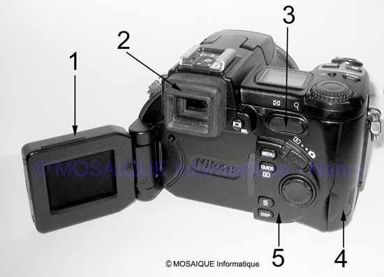 La face arrière d'un appareil - Photo numérique - MOSAIQUE Informatique - Formations informatiques en Lorraine