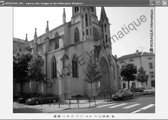 Cours sur la photo numérique - Le mode Aperçu des images et des télécopies Windows XP