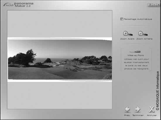 Cours photo numérique - Le panorama, après assemblage des photographies