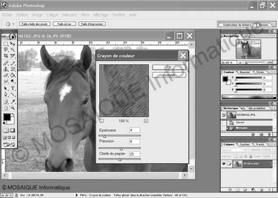 Cours photo numérique - L'interface de Photoshop