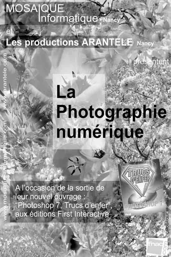 Photo numérique - Un patchwork de fleurs puisées dans plusieurs dizaines de photographies différentes