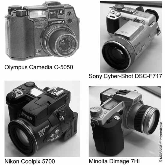 Tutoriel photo numérique - Appareils de type bridge - MOSAIQUE Informatique - Formation bureautique et infographie - Nancy - 54 - Lorraine