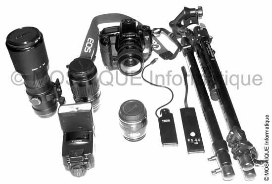 Tutoriel photo numérique - Composants et accessoires de l'appareil photo