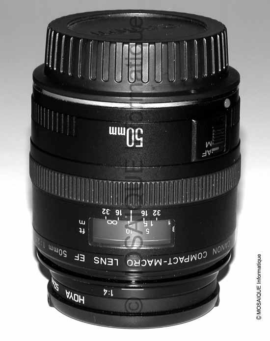 Tutoriel photo numérique -  Objectif de 50 mm de type normal