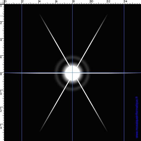 Une branche est ajoutée à l'étoile - Photoshop - MOSAIQUE Informatique - 54 - Nancy