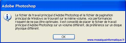 La seconde boîte de dialogue - Photoshop - MOSAIQUE Informatique - 54 - Nancy - www.mosaiqueinformatique.fr