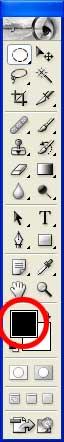 La définition de la couleur de premier plan dans la palette Outils - Photoshop - MOSAIQUE Informatique - 54 - Nancy - www.mosaiqueinformatique.fr