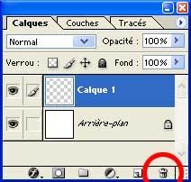 L'icône Supprimer le calque - Photoshop - MOSAIQUE Informatique - 54 - Nancy - www.mosaiqueinformatique.fr