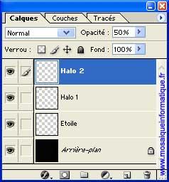La palette Calques - Photoshop - MOSAIQUE Informatique - 54 - Nancy