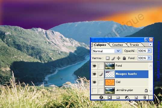 Photoshop - Le classement des calques