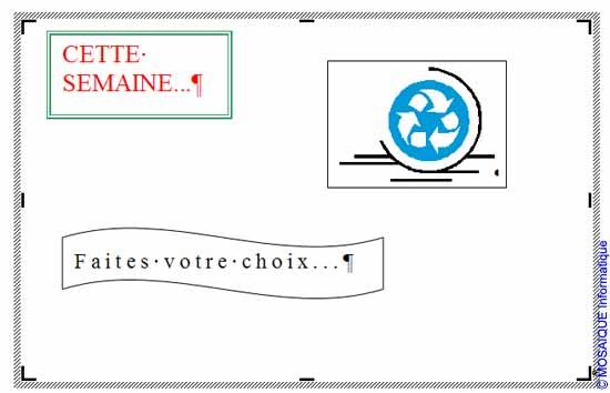 Un texte est ajouté - Word - MOSAIQUE Informatique - Tutoriels en ligne, formation informatique, bureautique, infographie, création de sites Internet - 54 - Nancy - Meurthe et Moselle - Lorraine