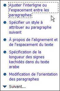 Les réponses affichées - Word - MOSAIQUE Informatique - Formations informatiques et création de sites web - 54 - Nancy - Meurthe et Moselle - Lorraine