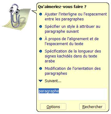 Le compagnon Office vous pose une question ! - Word - MOSAIQUE Informatique - Formations informatiques et création de sites web - 54 - Nancy - Meurthe et Moselle - Lorraine