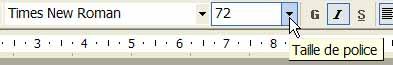 La taille de la police de caractères est augmentée - Word - MOSAIQUE Informatique - Tutoriels en ligne, formation informatique, bureautique, infographie, création de sites Internet - 54 - Nancy - Meurthe et Moselle - Lorraine