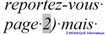 Le renvoi, inséré dans le document - Word - MOSAIQUE Informatique - Tutoriels en ligne, formation informatique, bureautique, infographie, création de sites Internet - 54 - Nancy - Meurthe et Moselle - Lorraine