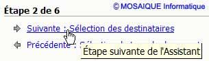 Le passage à l'étape suivante - Word - MOSAIQUE Informatique - Lorraine - Meurthe et Moselle - 54 - Nancy