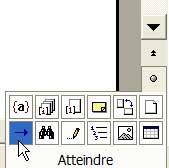 Un raccourci pour atteindre une page - Word - MOSAIQUE Informatique - Formations informatiques et création de sites web - 54 - Nancy - Meurthe et Moselle - Lorraine