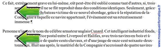 La présentation en sommaire sous Word 2007 - MOSAIQUE Informatique - Nancy - www.mosaiqueinformatique.fr