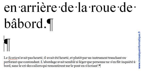 L'insertion de la seconde marque de paragraphe sous Word 2007 - MOSAIQUE Informatique - Nancy - www.mosaiqueinformatique.fr
