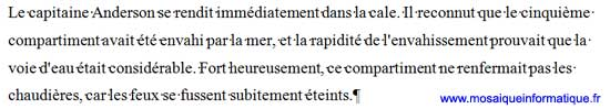 L'interlignage 1,5 ligne sous Word 2007 - MOSAIQUE Informatique - Nancy - www.mosaiqueinformatique.fr