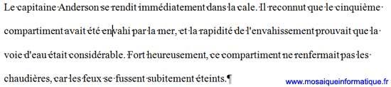 L'interlignage Double sous Word 2007 - MOSAIQUE Informatique - Nancy - www.mosaiqueinformatique.fr