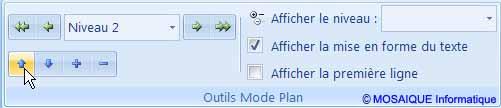 Didacticiel Word 2007 - Les boutons Monter et Descendre