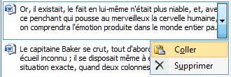 Le coller est effectué depuis le volet Presse-papiers de Word 2007 - MOSAIQUE Informatique - Nancy