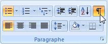 Le bouton Afficher tout sous Word 2007 - MOSAIQUE Informatique - Nancy