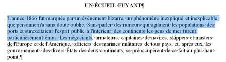 La sélection de texte la plus basique sous Word 2007 - MOSAIQUE Informatique - Nancy - www.mosaique-informatique.fr