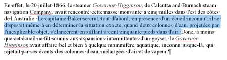 La sélection d'une phrase sous Word 2007 - MOSAIQUE Informatique - Nancy - www.mosaique-informatique.fr