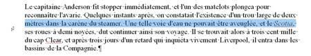 La sélection d'une ligne sous Word 2007 - MOSAIQUE Informatique - Nancy - www.mosaique-informatique.fr