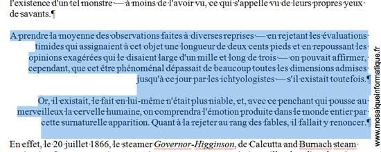 Les paragraphes sont alignés à droite dans le document sous Word 2007 - MOSAIQUE Informatique - Nancy - www.mosaiqueinformatique.fr