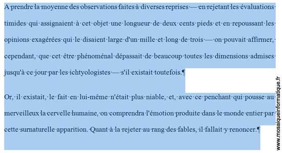 La valeur de l'interlignage a été modifiée sous Word 2007 - MOSAIQUE Informatique - Nancy - www.mosaiqueinformatique.fr