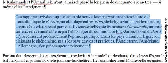 Le retrait à gauche a été augmenté sur le paragraphe sous Word 2007 - MOSAIQUE Informatique - Nancy - www.mosaiqueinformatique.fr