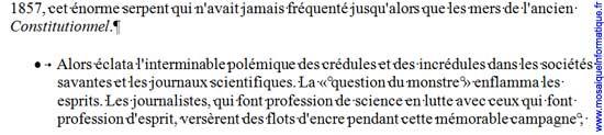 La puce est appliquée sur le paragraphe sous Word 2007 - MOSAIQUE Informatique - Nancy - www.mosaiqueinformatique.fr