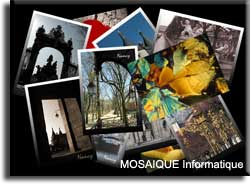 Photographies - MOSAIQUE Informatique - Nancy