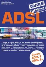 Livre L'ADSL - MOSAIQUE Informatique - Nancy - 54 - Meurthe et Moselle - Lorraine