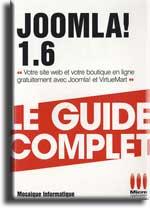 Livre Joomla 1.6 - Le guide complet - MOSAIQUE Informatique Nancy