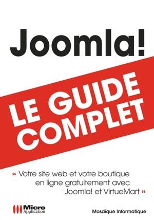 Livre Joomla et Virtuemart - Guide complet - MOSAIQUE Informatique (Alain Mathieu et Dominique Lerond) - Nancy - 54 - Meurthe et Moselle - Lorraine