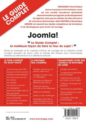 Formation à la conception de sites Internet - Joomla, Virtuemart et référencement - MOSAIQUE Informatique - Nancy - 54 - Meurthe et Moselle - Lorraine