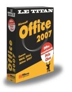 Office 2007 - Collection Le Titan - Auteurs : Céline Sparfel, Elisabeth Ravey et MOSAIQUE Informatique - Nombre de pages : 1080 pages - ISBN : 978-2-7429-6832-9 - EAN : 9782742968329 - Référence Micro Application : 7832